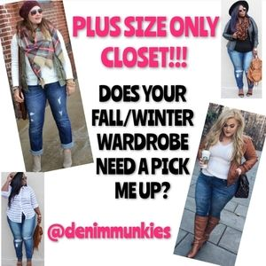 NEW ITEMS LISTED PLUS SIZE JEANS